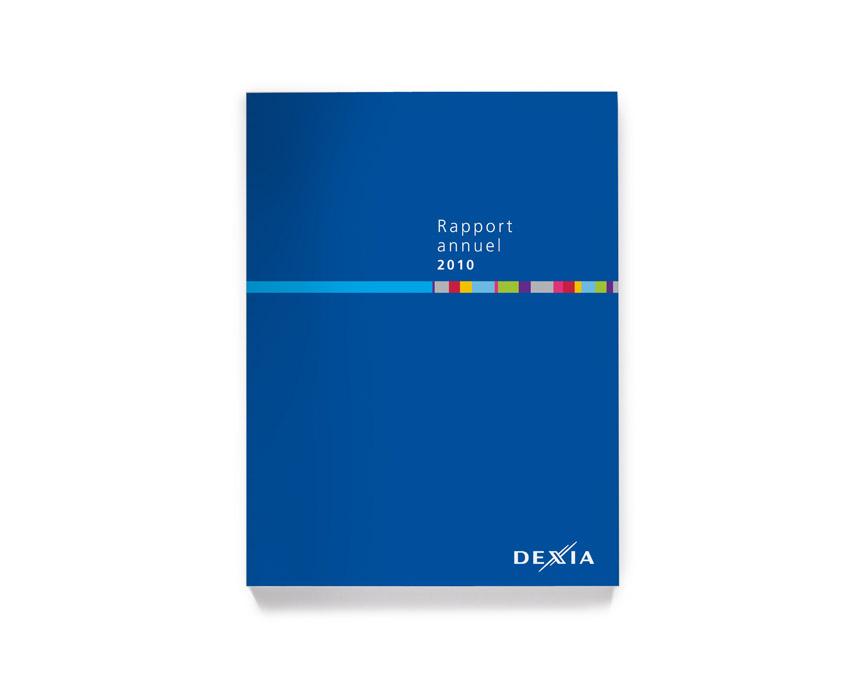 DEXIA Rapport Annuel 2010 couverture