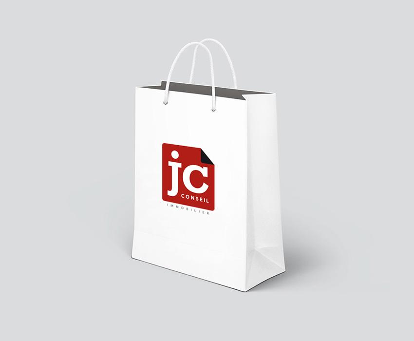 Conception et réalisation d'un sac client pour JCconseil