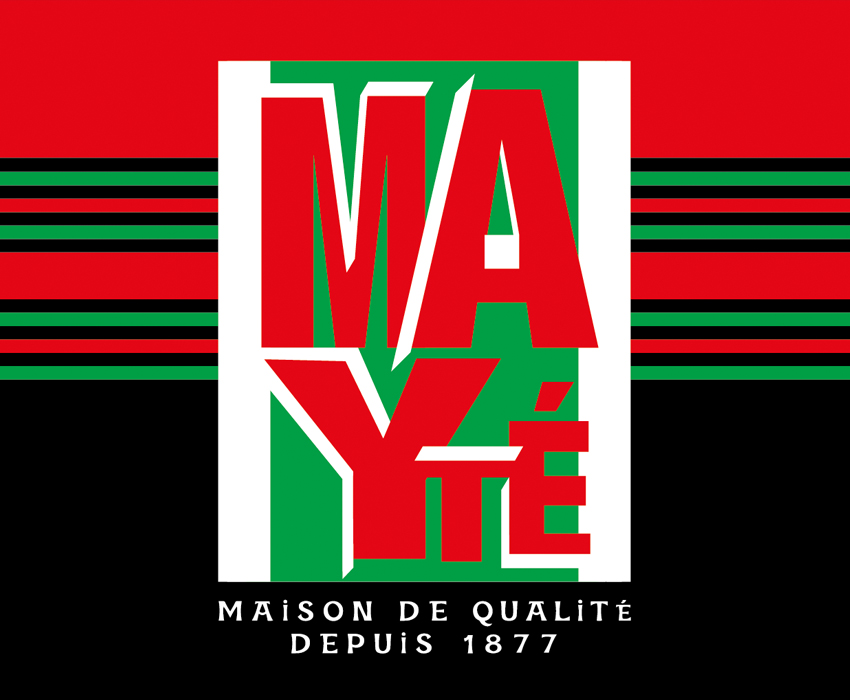 Logo et identité de marque de la Maison Mayté