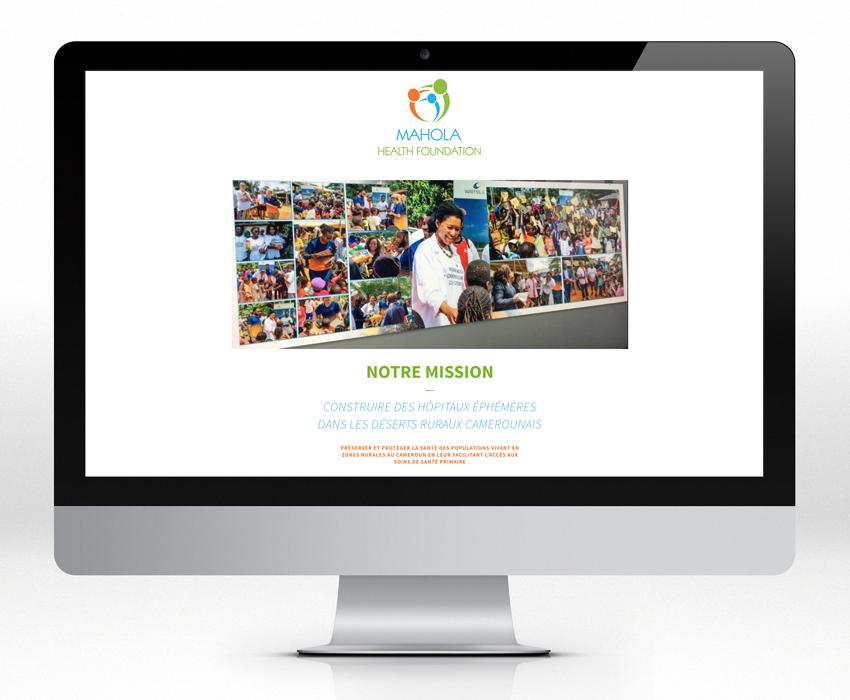 MAHOLA - Homepage su site Internet