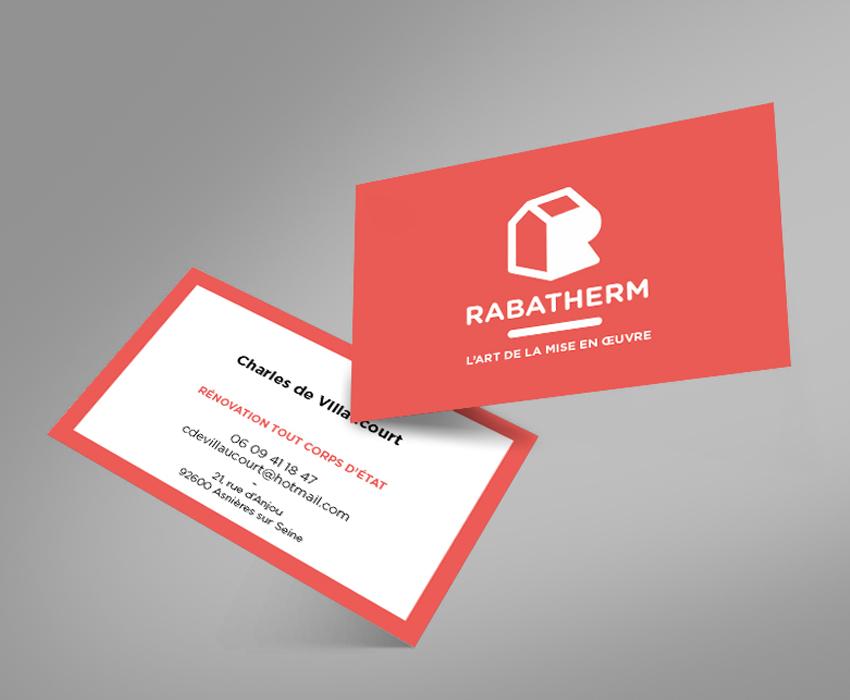 RABATHERM Carte de visite